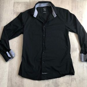 EL by English Laundry S Slim Fit Button Up